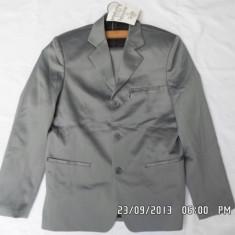 Costum barbati, 3 nasturi, Normal, Poliester - COSTUM BARBATESC( ADOLESCENT)- 164 CM, NOU, GERMANIA