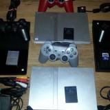 PlayStation 2 Sony modat ps2 slim play station 2 modat + FIFA 2014, PES 15, GTA
