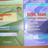 ECDL - MODULE 2, 3, 4, 7 - LOT 2 CARTI - Carte software