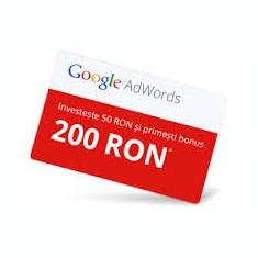 Cupoane Adwords - Solutii business