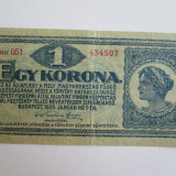 Bancnota Straine - 1 Korona 1920 Ungaria