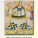 Tablou bucatarie - Bucatar ( 60x50cm ), LIVRARE GRATUITA 24-48h - Reproducere