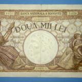 Bancnota 2000 lei - Doua Mii Lei - 18 noiembrie 1941 - de Colectie