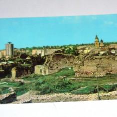 Carte postala - ilustrata - SUCEAVA - VEDERE DE LA CETATEA SUCEVEI - necirculata anii 1970 -1990 - 2+1 gratis toate produsele la pret fix - RBK4778 - Carte Postala Bucovina dupa 1918, Fotografie