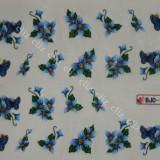 Tatuaj transfer pe baza de apa sticker pentru decorare unghii flori BJC 188 - Unghii modele