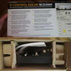 BEHRINGER B-Control Deejay BCD3000 USB . MIDI . PC Control FULL BOX - Mixere DJ