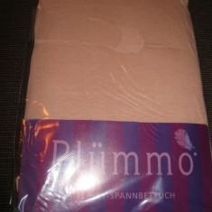 Cearceaf cu elastic NOU 100 x 200 cm material tip jerseu - Husa pat