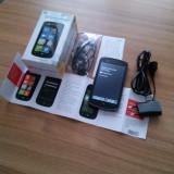 ZTE Tania Windows Phone Nou - Telefon mobil ZTE, Negru, 4GB, Neblocat, Single core, 512 MB