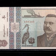 BANCNOTA 200 LEI 1992 - UNC