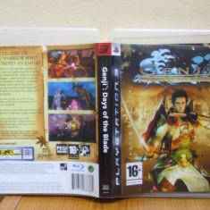GENJI: DAYS OF THE BLADE (PS3) (ALVio) + sute de alte jocuri! ( VAND / SCHIMB ) - Jocuri PS3 Sony, Actiune