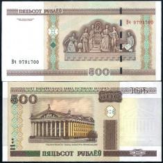 BELARUS- 500 RUBLE 2000- UNC!! - bancnota europa