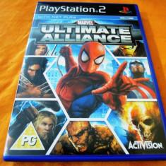 Joc Marvel ultimate Alliance, PS2, original, 39.99 lei(gamestore)! - Jocuri PS2 Activision, Actiune, 12+, Single player