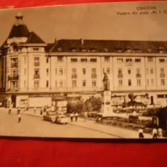 Ilustrata Craiova -Piata Al.I.Cuza, circ. 1963