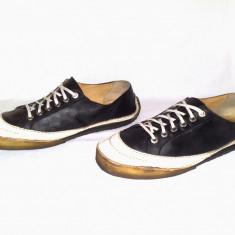 Pantofi sport sneaker clarks originals din piele naturala nr 44 - Tenisi barbati Clarks, Culoare: Negru