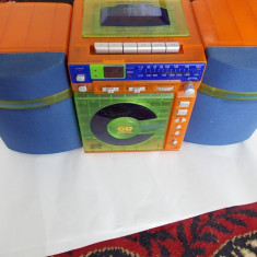 Combina audio - COMBINA STEREO CD RADIO CASETTE RECORDER, IMAGINARIUM CD-169 .
