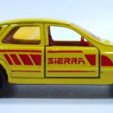 Macheta auto - MAJORETTE-REGULAR-SCARA 1/64--FORD SIERRA-++2501 LICITATII !!