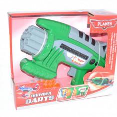 Pistol de jucarie, 4-6 ani, Plastic, Unisex - Pistol mitraliera cu ventuze din spuma