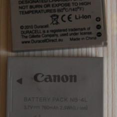 2 bucati la pret de unu accumulator NB-4L Canon IXUS Canon PowerShot Canon IXY