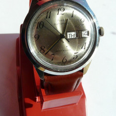Ceas Timex Automatic in stare buna de functionare - Ceas barbatesc Timex, Mecanic-Automatic, Piele