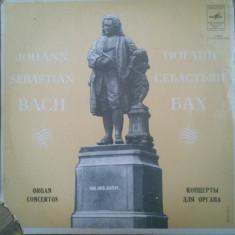 JOHANN SEBASTIAN BACH - ORGAN CONCERTOS (DISC VINIL) - Muzica Clasica