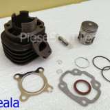 Kit cilindru / Set Motor + Piston + Segmenti Scuter Minarelli / Minareli Orizontal ( 2T / 65cc / Racire Aer ) - Set cilindri Moto