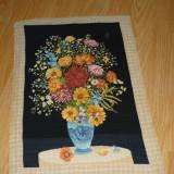 """Goblen """"ansamblu floral"""" - Tapiterie Goblen"""