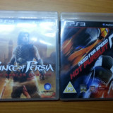 Jocuri PS3, Curse auto-moto, 3+, Multiplayer - NFS Hot Pursuit + Prince of Persia Forgotten Sands - PS3