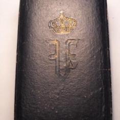 Coroana Romaniei Cavaler Primul Model la Cutie de ARGINT Marcata IEFTIN - Ordin