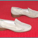 DE FIRMA _ Pantofi dama, NOI, din piele moale, foarte comozi ARA _ femei | nr 40, Piele naturala