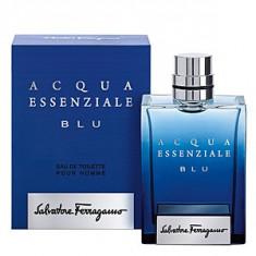Salvatore Ferragamo Acqua Essenziale Blu EDT 100 ml pentru barbati - Parfum barbati