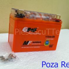 Baterie / acumulator moto scuter 12v ( volti ) 4A ( amperi ) 12 v 4 A ( GEL ) - Baterie Moto