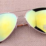 Ochelari de soare, Unisex, Pilot, Metal, Protectie UV 100%, Polarizate - Ochelari soare unisex model Aviator