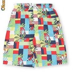 Haine Copii peste 12 ani, Bermude, Baieti - Nou! Sort de baie colorat, marca George, baieti 13-14 ani