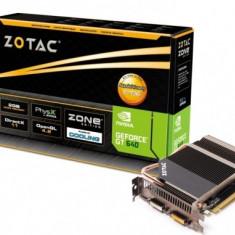 Placa video Silent(Racire pasiva) ZOTAC ZT-60207-20L GT640 2GB DDR3 ZONE Edition - Placa video PC Zotac, PCI Express, nVidia