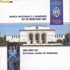 Monede Romania, An: 2004 - SET MONETARIE 2004
