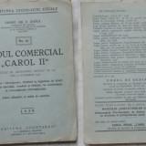 Carte Editie princeps - Codul comercial Carol II, 1939