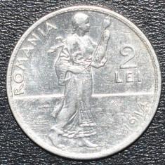 Monede Romania - (1251) ROMANIA 2 LEI 1914 REGELE CAROL I - MONEDA ARGINT - TESETOAREA !!! - IEFTIN !!!