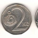 SV * Republica Ceha (Cehia/ex-Cehoslovacia) 1 + 2 + 5 KORUN / COROANE 1993-1994, Europa, An: 1994