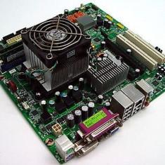 KIT Placa de Baza Asus LENOVO SOCKET AM2 4 SLOTURI DE RAM / PCI-EXPRESS + PROCESOR AMD ATHLON X2 5000+ 2x2.60GHZ + COOLER + SHIELD I/O | GARANTIE 6 LUNI, Pentru AMD, DDR2, Contine procesor, MicroATX