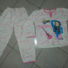 Pijama de fete, cu hanna Montana, marimea 134-140 cm, pentru 8-10 ani