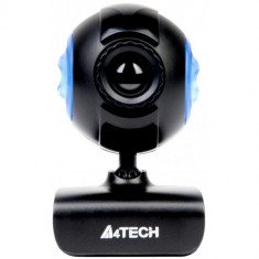 Camera Web, Webcam A4Tech USB 16 MP 640x480 reglabila, neagra, Peste 2.4 Mpx, Microfon