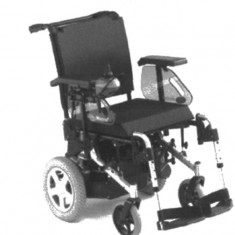 Scaun cu rotile - Fotoliu rulant cu antrenare electrica MISTRAL