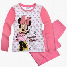 Pijama fete 2-8 ani - Minnie 96362 - alb, Marime: Alta, Culoare: Multicolor