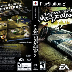 Joc original Need For Speed Most Wanted pentru consola Sony Playstation 2 PS2 - Jocuri PS2 Ea Games, Curse auto-moto, Toate varstele, Multiplayer