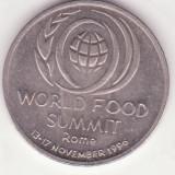 Monede Romania, An: 1996 - (MR37) MONEDA ROMANIA - 10 LEI 1996 - WORLD FOOD SUMMIT - ROME - 13-17 NOIEMBRIE 1996 - COMEMORATIVA