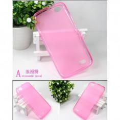 Husa telefon, Allview V1 Viper, Roz, Gel TPU, Carcasa, Fara snur - Husa ALLVIEW V1 Viper TPU Transparenta Pink