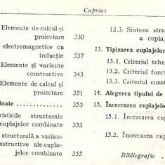 (C1518) CALCULUL SI CONSTRUCTIA CUPLAJELOR DE I. DRAGHICI, I. ACHIRILOAIE, E. CHISU, C. D. RADULESCU, GH. PRODAN, EDITURA TEHNICA, 1978 - Carti Constructii