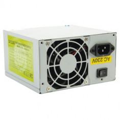 Vand sursa Deluxe 450W cu 6 molex, 24 pini mobo, 4pini CPU, 1x Floppy, vent 80mm - Sursa PC Delux, 450 Watt