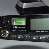 Resigilat - Statie radio CB Midland Alan 48 excel cu 12-24V Cod C580.13