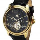 Ceas de lux Calvaneo 1583 Evidence Gold Black 2, original, nou, cu factura si garantie!